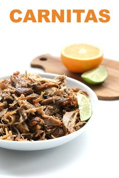 Naturally low carb gluten-free and paleo these are the best carnitas I have ever tasted. And I didnt mind testing this recipe over and over and over Carnitas. Delicious little pi Best Low Carb Recipes, Thm Recipes, Ketogenic Recipes, Whole 30 Recipes, Mexican Food Recipes, Real Food Recipes, Dinner Recipes, Cooker Recipes, Healthy Recipes