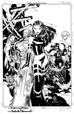 Uncanny X-Men promo cover by TimTownsend on deviantART