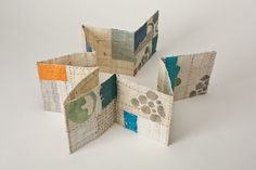 Jody Alexander - Theory of Collective Behavior, No. Accordion Book, Modern Library, Book Letters, Art Series, Handmade Books, Book Making, Book Photography, Washi, Textile Art