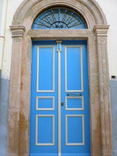 Blue Door, Leros Island Parthenon, Acropolis, Mykonos, Santorini, Black Sand, In Ancient Times, Photo Diary, Athens, Entrance