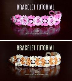 Diy double helix dna spiral bracelet tutorial diy dna helix butterflies in flowers boho style bracelet tutorial macrame boho jewelry bracelet fandeluxe Images