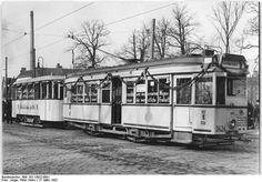 Mobiler Bibliothekswagen: Protestkundgebung der BVG (17.03.1952)