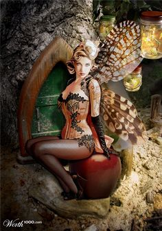 fairy pinup
