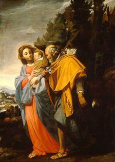 Huyendo de la muerte decretada contra JESUS...