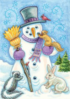 Vintage Christmas Cards CD-ROM and Book by Carol Belanger Grafton - Dover Publications - SAMPLE  3