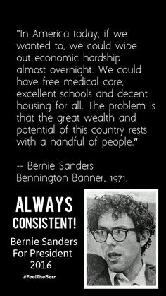 Senator Bernie Sanders for President! #bernieforprez #berniesanders #bernbabybern #feelthebern