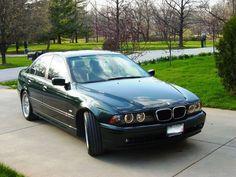 BMW E39 Dark Green
