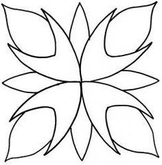 "Passion Flower 7""    - #DRAW #ZENTANGLE #ZENDALA #TANGLE #DOODLE #TEMPLATE #VORLAGEN Wool Applique, Applique Patterns, Applique Designs, Quilting Designs, Quilt Patterns, Stitch Patterns, Embroidery Designs, Mosaic Patterns, Stained Glass Patterns"
