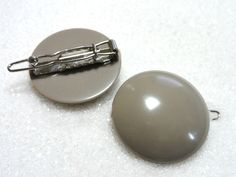 Simply Elegant Vintage Barrettes in Overcast Grey! Only $4 each! Find them in Hair Accessories at thenchantedforest.ca Enchanted, Hair Accessories, Stud Earrings, Elegant, Grey, Gifts, Shopping, Vintage, Jewelry