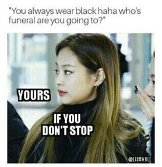 BLACKPINK MEMES II - 26 : Welcome to another fourth dimension? Highest rank on Blackpink Memes -Book II This for entertainment purpose only. Blackpink Memes, Funny Kpop Memes, Funny Relatable Memes, Yg Entertainment, Jungkook Meme, Blackpink Funny, Black Pink, Black Girls, Kdrama Memes
