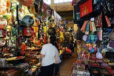 Ben Thanh Market in Ho Chi Minh City. Crazy place where the vendors try to sell you anything and everything.