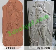 greek warrior stela relief cnc carving