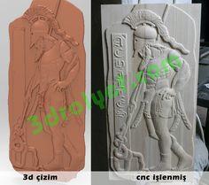 greek warrior stela relief cnc carving