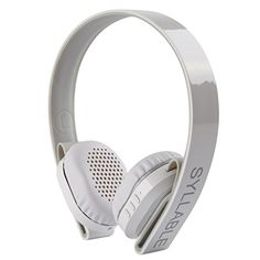 Special Offers - Syllable G600 HIFI Stereo Wireless Bluetooth 4.0 Noise Cancellation 3.5mm Stereo Headphone Earphone Headset with Microphone for Samsung iPhone iPad MP3/MP4 Laptop PC Tablet (White) - In stock & Free Shipping. You can save more money! Check It (May 04 2016 at 03:54PM) >> http://ift.tt/21vSWtB