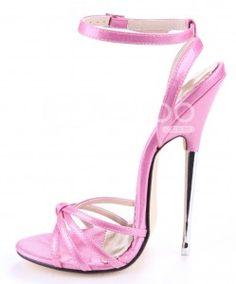 6 inch high heels in pink for your inner bad Barbie 6 Inch Heels