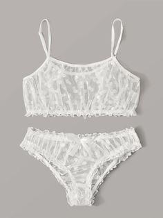 Sewing Lingerie, Pretty Lingerie, Sheer Lingerie, Beautiful Lingerie, Lingerie Set, Mesh Underwear, Cute Underwear, Lingerie Underwear, Lingerie Bonita