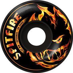 SPITFIRE WHEELS Infernos roues de skate noires 52mm 99A 45,00 € #skate #skateboard #skateboarding #streetshop #skateshop @playskateshop