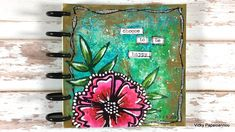 Clips-n-Cuts | Art Journal | choose to be happy | http://www.clips-n-cuts.com