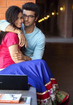 Catch the first glimpse of Ananya & Krish in their college campus.