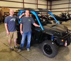 Thanks to Casey and Stetson Rickles from Meridian MS 2016 for getting a Can-Am Commander XT 800 at Hattiesburg Cycles