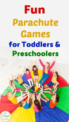 Parachute Games for Toddlers: Simple Activities for Early Years - In . - Parachute games for toddlers: simple activities for early years – In … – – - Diy Party Games For Toddlers, Parachute Games For Kids, Indoor Games For Kids, Indoor Activities For Toddlers, Gross Motor Activities, Toddler Preschool, Preschool Activities, Outdoor Games For Preschoolers, Party Activities