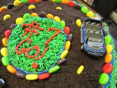 Car Cake: Oreos and Sprees make a road