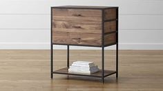 "Knox Low Storage Bookcase | Crate and Barrel | Maybe a couple of these on either side of the media piece. Also 35"" high."