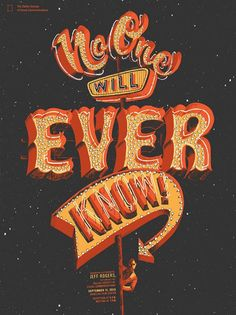 typographic poster bshk 2014 25 30 Stunning Typographic Posters