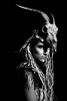 Tribal ‹ Hair & Makeup by Liz Tribal Hair, Foto Art, Headdress, Headpiece, White Photography, Fantasy Photography, Dark Art, Hair Makeup, Black And White