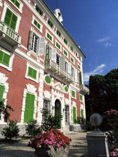 The Villa Durazzo, Santa Margherita, Liguria, Italy