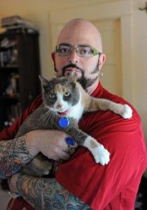 Jackson Galaxy brings his cat mojo to Chicago on Sunday.