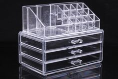 Storage Cosmetics Makeup Organizer Drawer Acrylic Transparent - Stylish n Trendier - 3