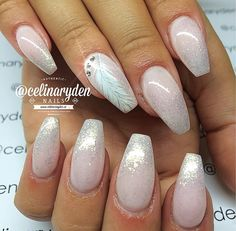 Babyboom glitter with feather
