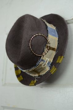 Mens Hat Fedora  1920 s Vintage Derby Hat 47b398d2046a