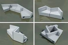 Resultado de imagen para mobiliario multifuncional
