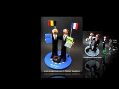 Gay's Wedding Cake Toppers custom made to order... any sort of same sex wedding cake topper can be made to your specs... totally personalized  $235 #gay#same_sex#two_grooms#homosexual##wedding #cake #toppers  #custom #personalized #Groom #bride #anniversary #birthday#wedding_cake_toppers#cake_toppers#figurine#gift