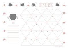 Gabulle in Wonderland: Calendrier de septembre à imprimer ( printable calendar : september 2015 )