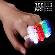 #LED #Finger #Lights, #Ambience #Pro #Party #Favors, #Celebration #Toys for #Easter, #Christmas, #Halloween, #Carnival, #Concert, #Wedding, #Labor #Day, Veteran's #Day, #Pack of #100 ENGINE OF FANTASTIC MEMORY: No matter it is jubilant #Easter, May #Day, Children's #Day, #Halloween, #Christmas, New Year's #Day, or passionate weddings, parties, concerts, carnivals, our #finger #lights are perfect engines of light-hearted #ambience USER-FRIENDLY: Out-of-the-box! Just gently p