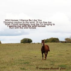 Natasha Bedingfield - Wild Horses... my favorite songs of hers