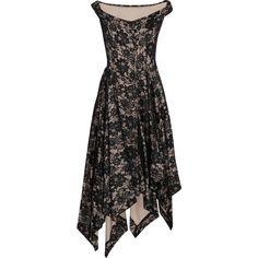 Vivienne Westwood Anglomania Saturday asymmetric lace dress