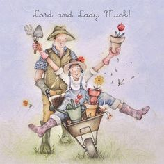Cards » Lord and Lady Muck » Lord and Lady Muck - Berni Parker Designs