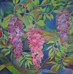 Hellenne Vermillion Art: SILK CLASSES