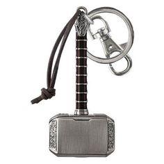 Marvel Thor 2 Thor's Hammer Mjolnir Keychain