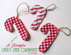 sewVery: A sewVery Simple Santa Hat Ornament Tutorial