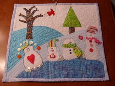 The Snow Ball Mini Quilt | Flickr - Photo Sharing!