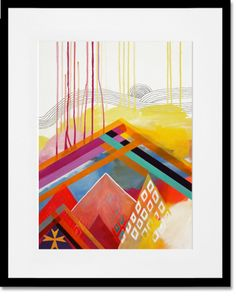 """""""Wind Storm"""" Framed Giclee Paper Print by Misha Maynerick Blaise for GreenBox Art + Culture, $29 - $199"""