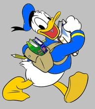 Donald Duck - the Mickey of Norway! Duck Cartoon, Mickey Mouse Cartoon, Mickey Mouse And Friends, Minnie Mouse, Disney And More, Disney Love, Walt Disney, Disney Mickey, Donald Duck Characters