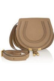 ChloéThe Marcie mini textured-leather shoulder bag