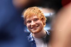 MELBOURNE, AUSTRALIA - SEPTEMBER 25:  Ed Sheeran speaks to the media during a press conference ahead of the AFL Grand Final at Melbourne Cricket Ground on September 25, 2014 in Melbourne, Australia.  (Photo by Robert Prezioso/Getty Images) via @AOL_Lifestyle