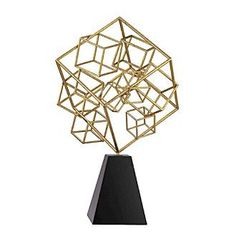 Sterling Cubic Abstract Sculpture